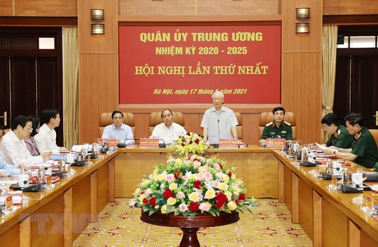 Tong Bi thu chu tri Hoi nghi Quan uy Trung uong lan thu nhat khoa XI-Hinh-3