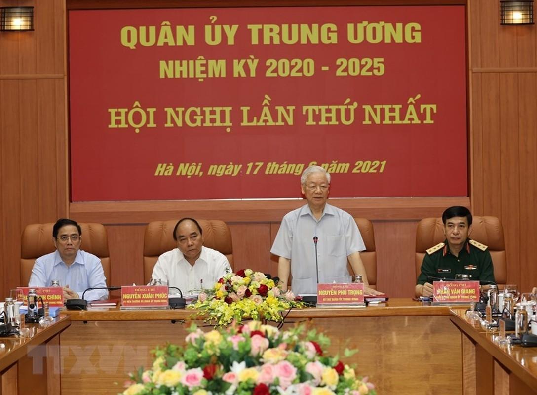 Tong Bi thu chu tri Hoi nghi Quan uy Trung uong lan thu nhat khoa XI-Hinh-6