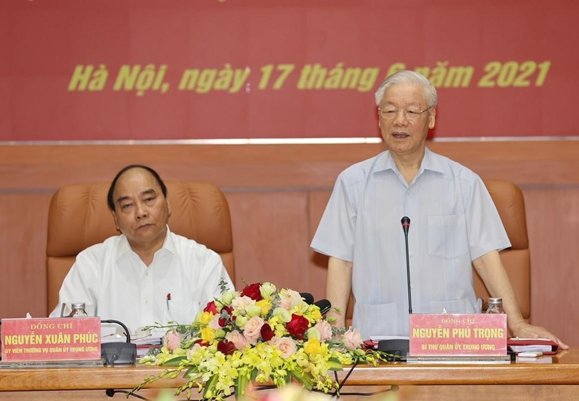 Tong Bi thu chu tri Hoi nghi Quan uy Trung uong lan thu nhat khoa XI-Hinh-7