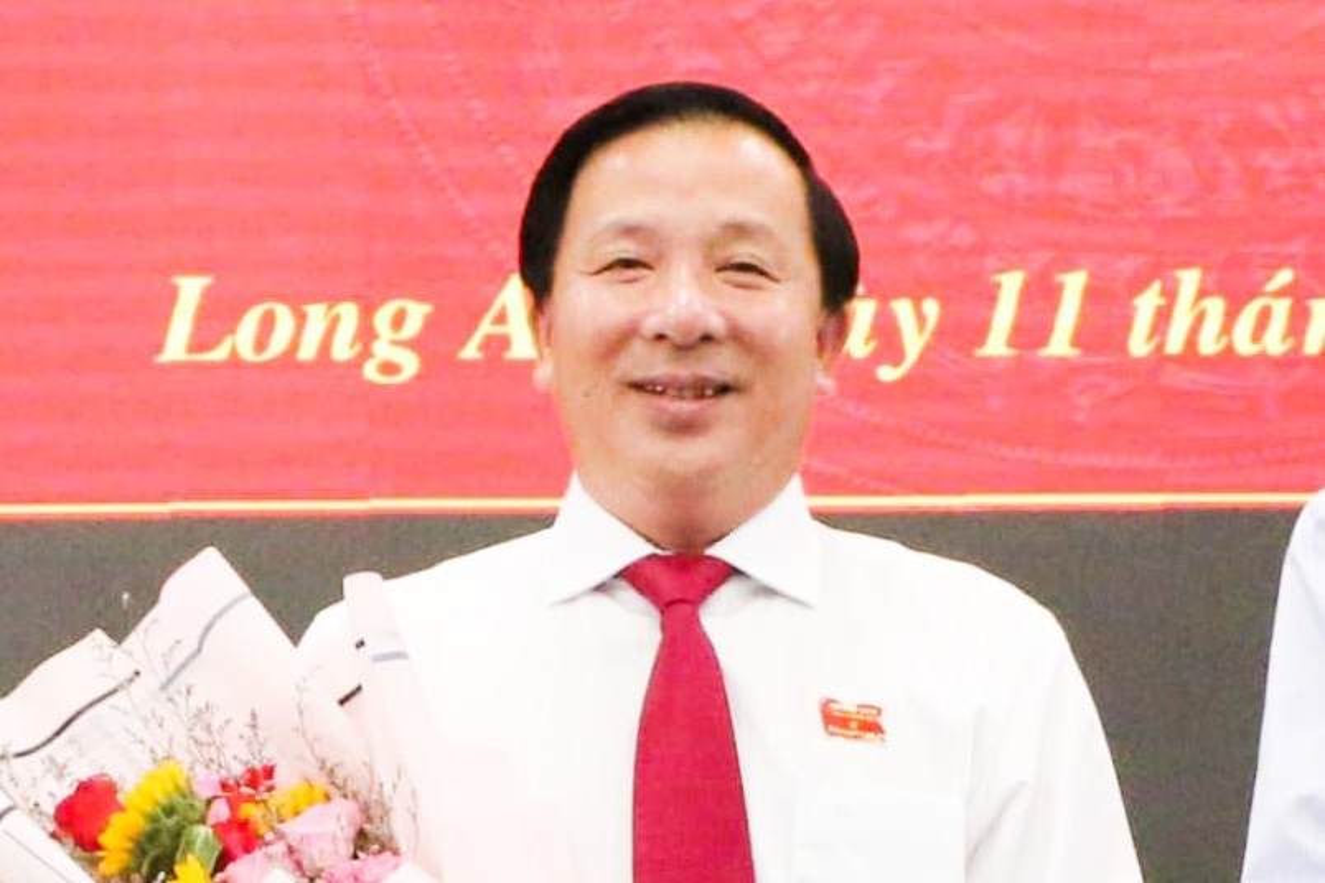 Ong Nguyen Van Ut tai dac cu Chu tich UBND tinh Long An
