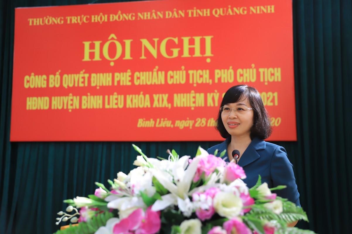 Ba Trinh Thi Minh Thanh lam Pho Bi thu Tinh uy Quang Ninh-Hinh-5