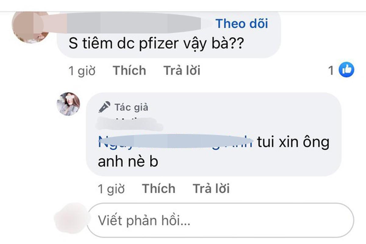 """Gai xinh khoe tiem vac xin, bao """"ong anh"""", """"ong ngoai""""... linh du?-Hinh-2"""