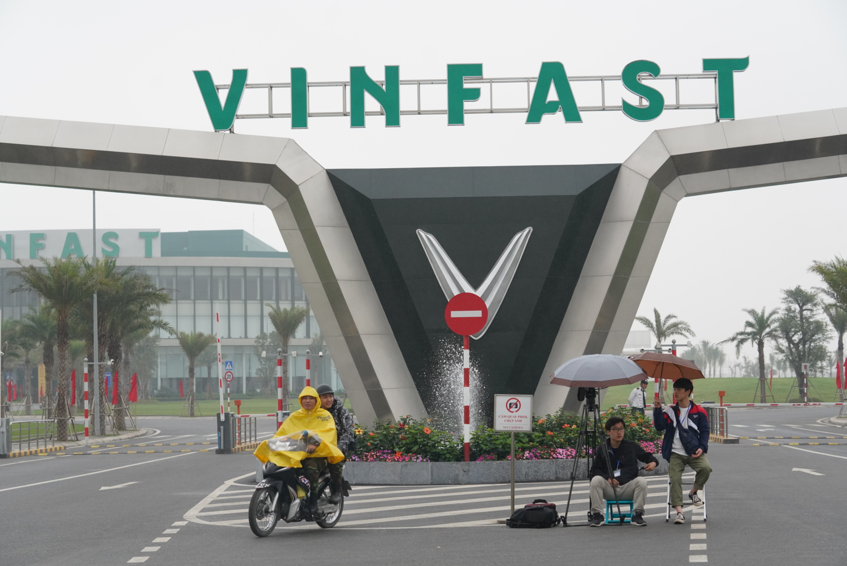 Doan dai bieu cap cao Trieu Tien tham nha may Vinfast Hai Phong-Hinh-6