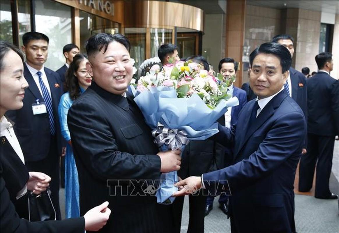 Chu tich Trieu Tien Kim Jong-un cung phai doan den vieng lang Chu tich Ho Chi Minh-Hinh-3