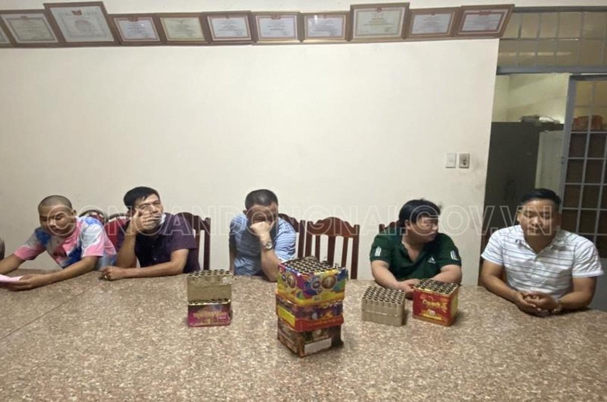 Dong Nai: Xu ly 118 doi tuong tang tru, dot phao trai phep dem giao thua-Hinh-3