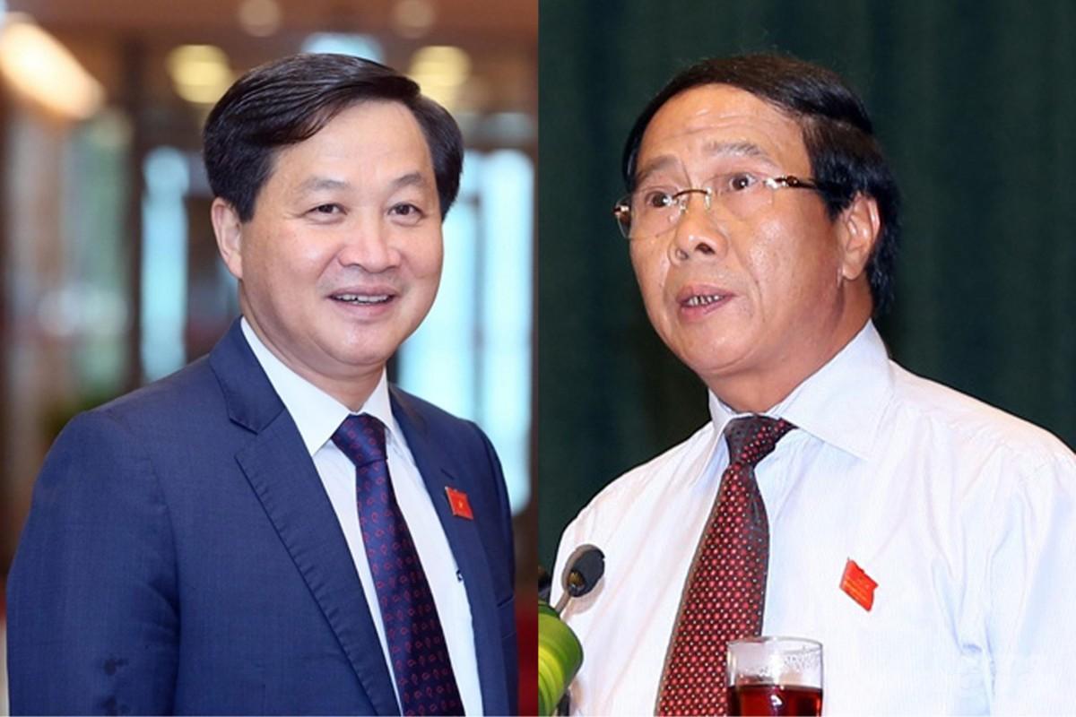 De nghi bo nhiem ong Le Van Thanh, Le Minh Khai lam Pho Thu tuong