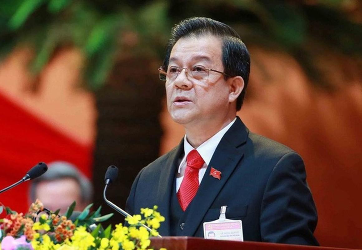 Chan dung tan Bi thu Tinh uy An Giang Le Hong Quang
