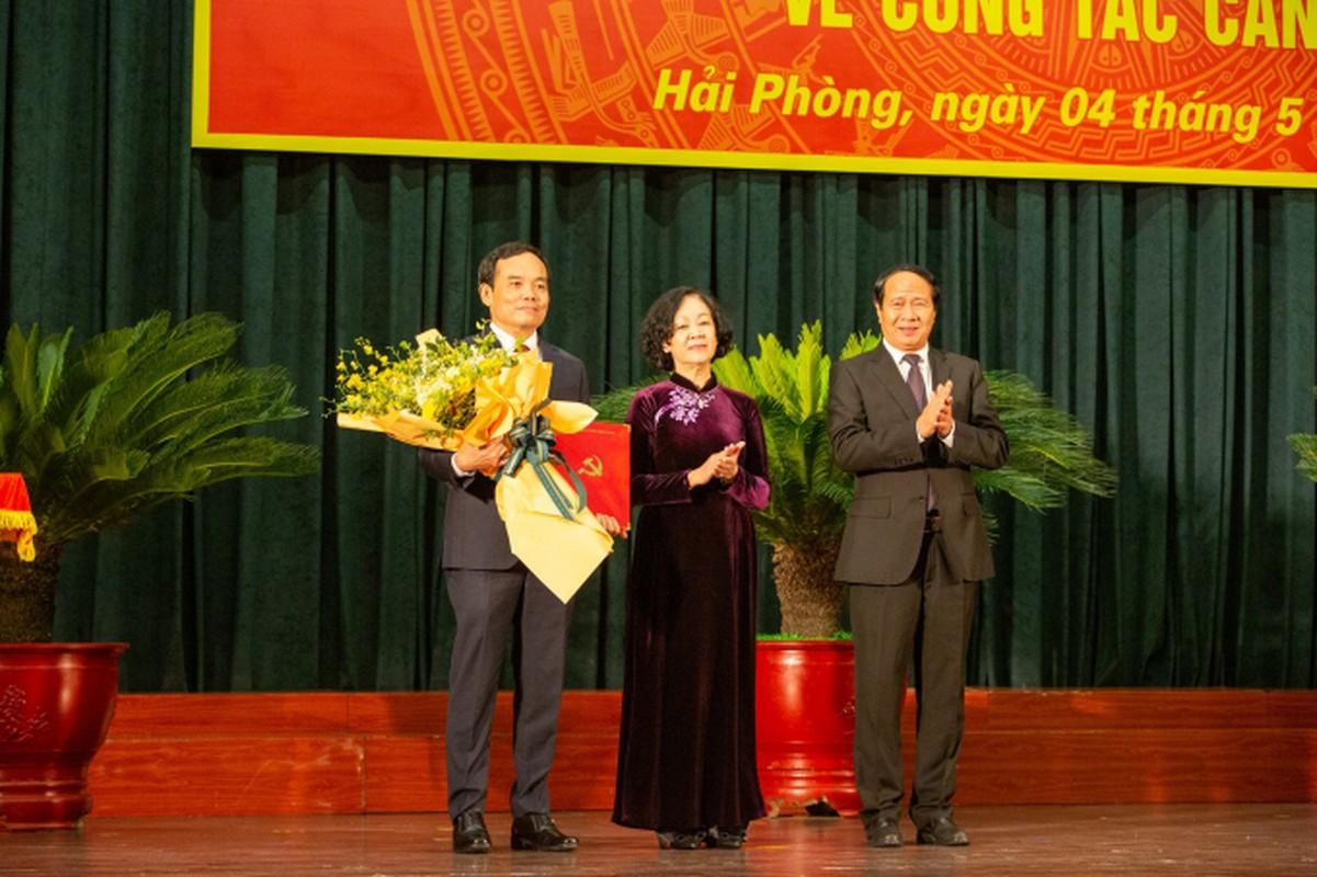 Chan dung tan Bi thu Thanh uy Hai Phong Tran Luu Quang