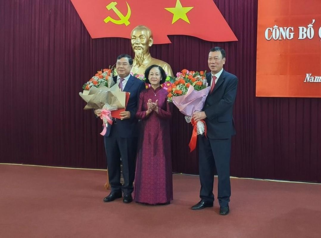Pho Truong ban Noi chinh Trung uong lam Bi thu Tinh uy Nam Dinh