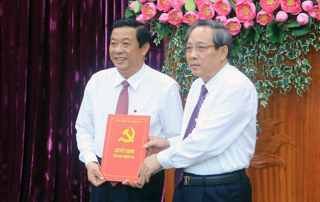 6 tan Bi thu Thanh uy, Tinh uy vua duoc Bo Chinh tri bo nhiem