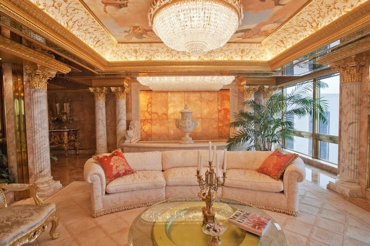 Chiem nguong penthouse dat vang cua Tong thong Donald Trump-Hinh-2
