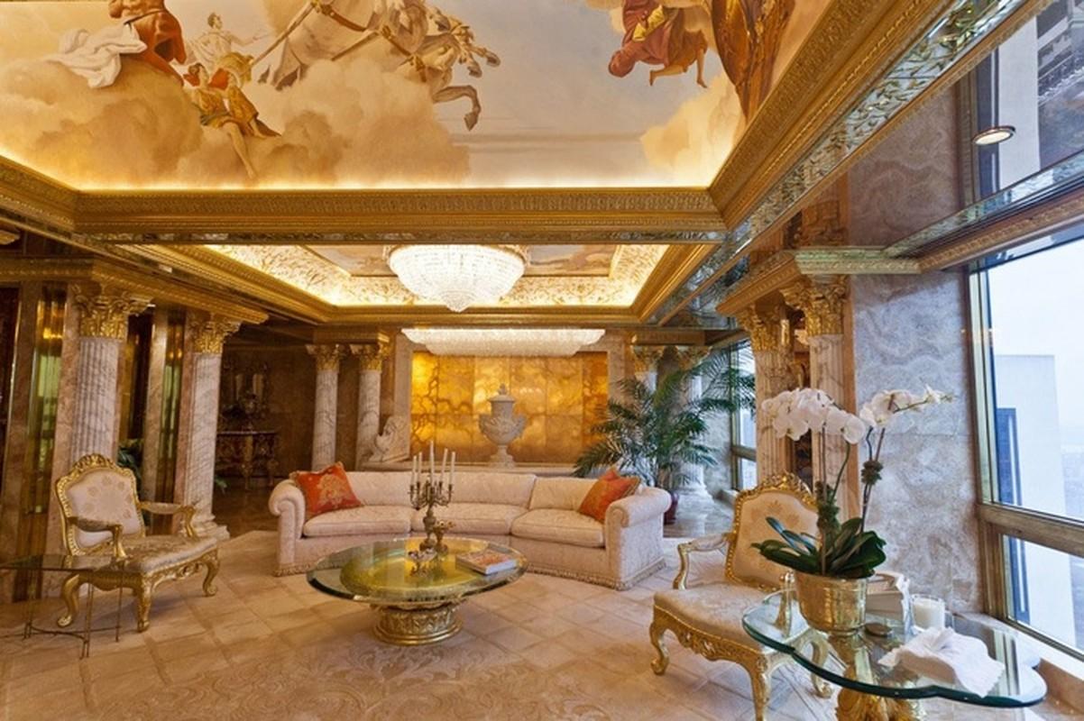 Chiem nguong penthouse dat vang cua Tong thong Donald Trump-Hinh-3