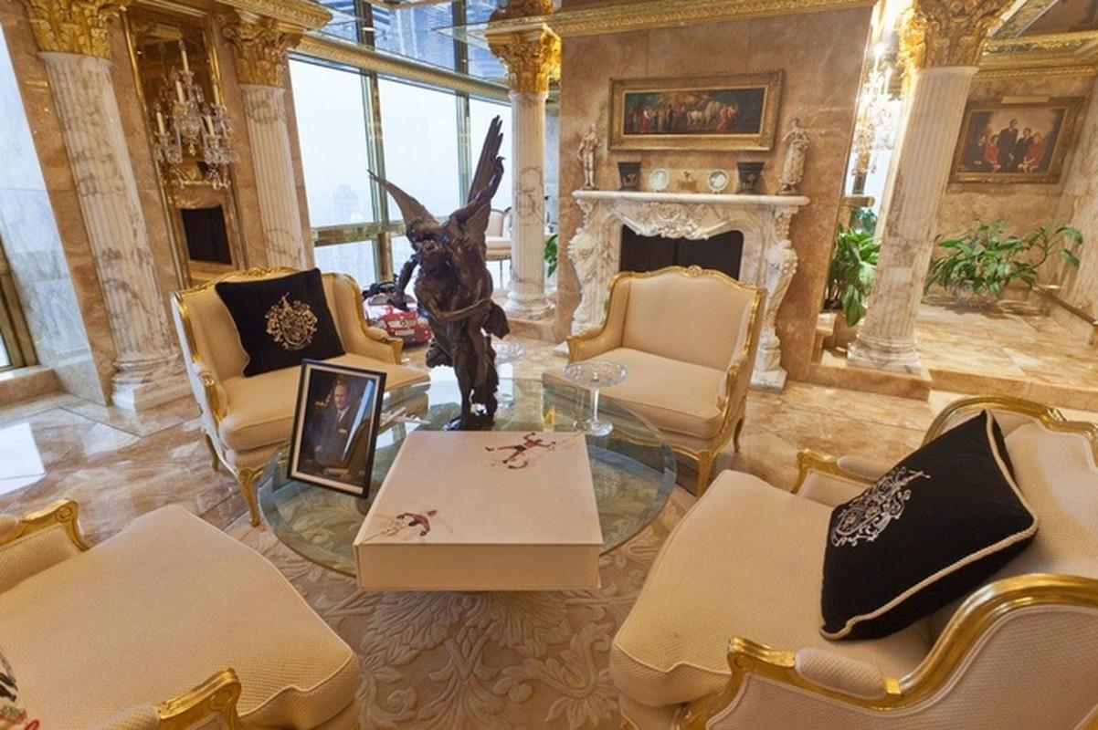 Chiem nguong penthouse dat vang cua Tong thong Donald Trump-Hinh-8