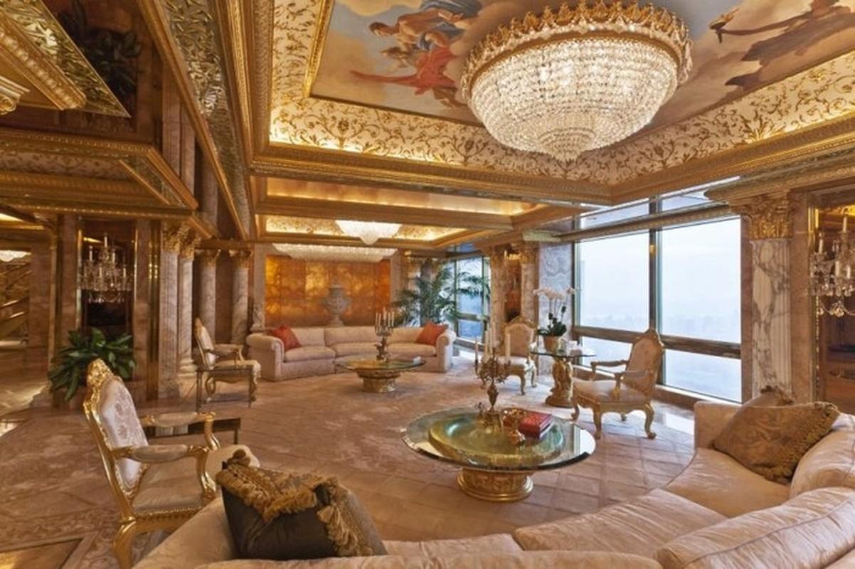 Chiem nguong penthouse dat vang cua Tong thong Donald Trump
