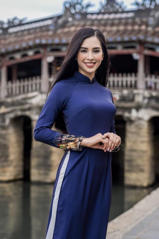 Hoa ra Tran Tieu Vy tung lam nguoi mau cho Hoa hau Ngoc Han-Hinh-3