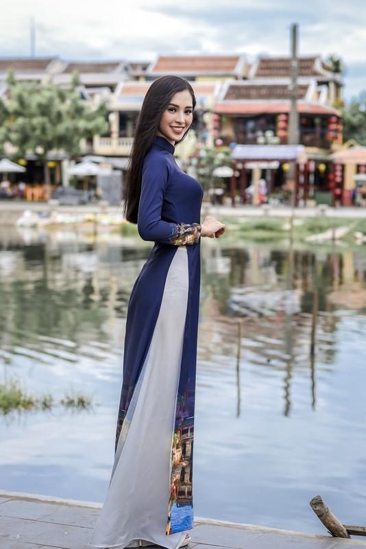 Hoa ra Tran Tieu Vy tung lam nguoi mau cho Hoa hau Ngoc Han-Hinh-4