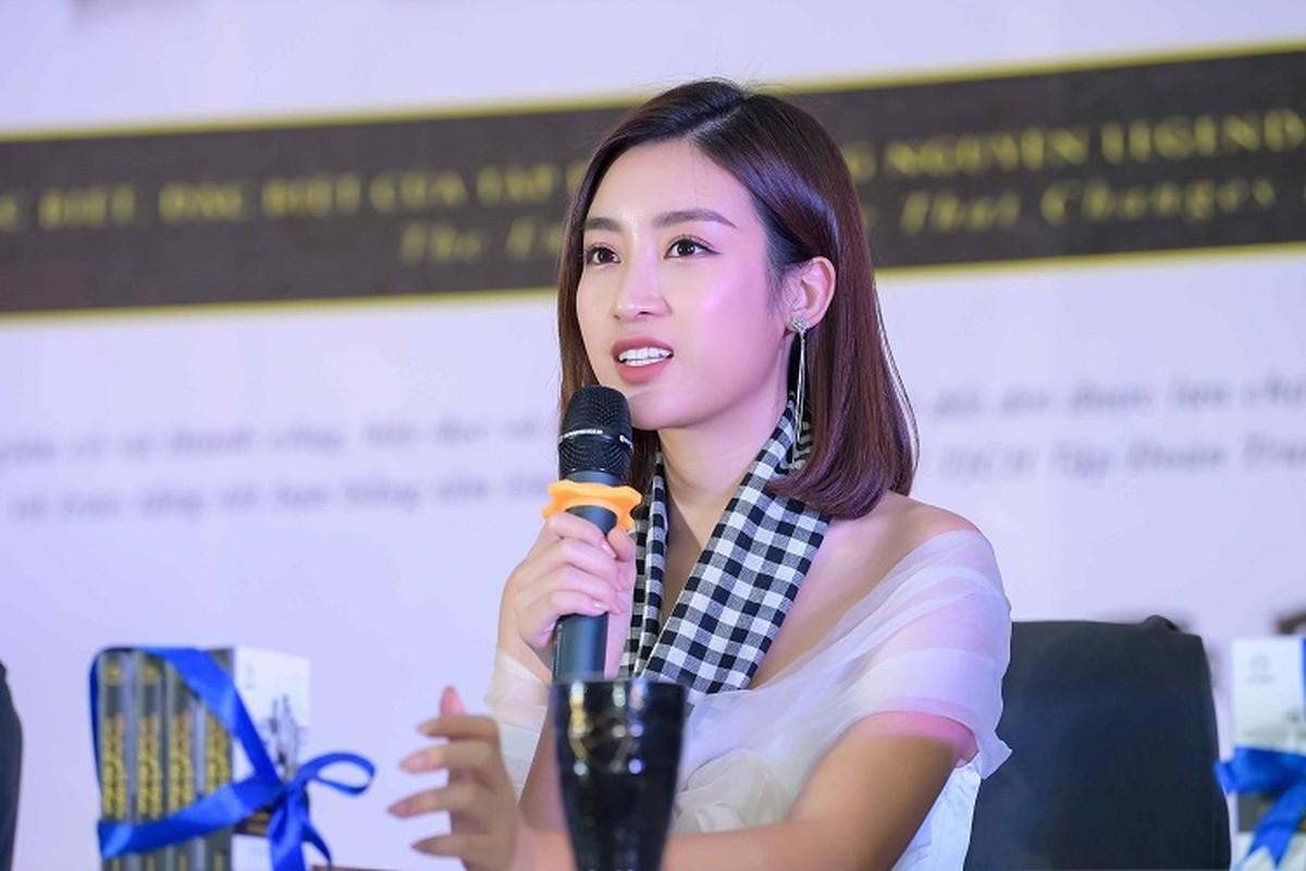 """Gai mot con"" Maya xinh bat ngo khi do sac HH Do My Linh-Hinh-8"