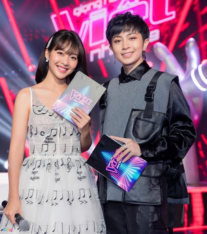 Huong Giang Idol lam huan luyen vien The Voice Kids bat chap tranh cai-Hinh-7