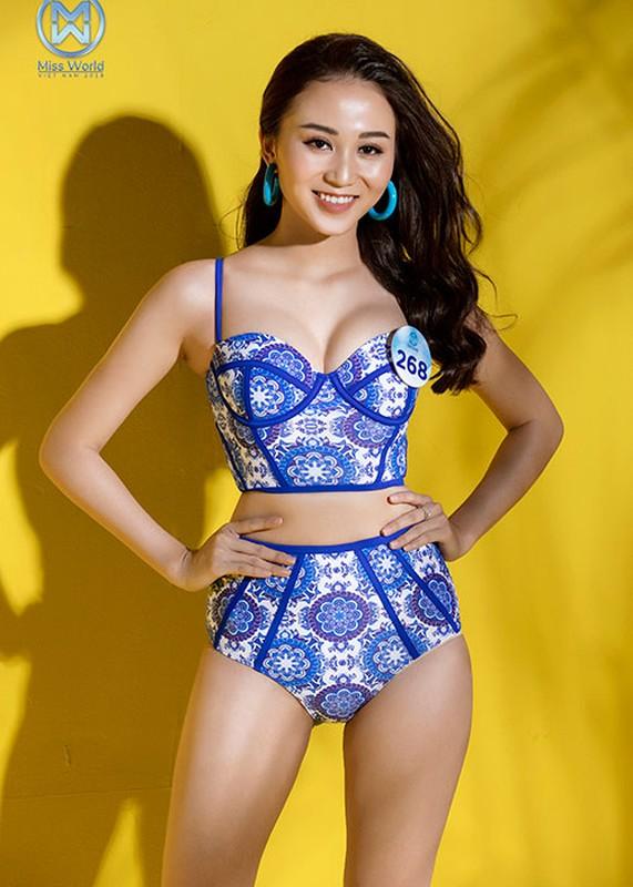 Thi sinh Miss World Viet Nam 2019 nuot na bikini-Hinh-9