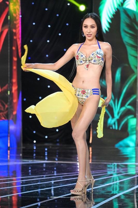 Thi sinh Miss World Viet Nam 2019 lo nhuoc diem khi dien ao tam-Hinh-15