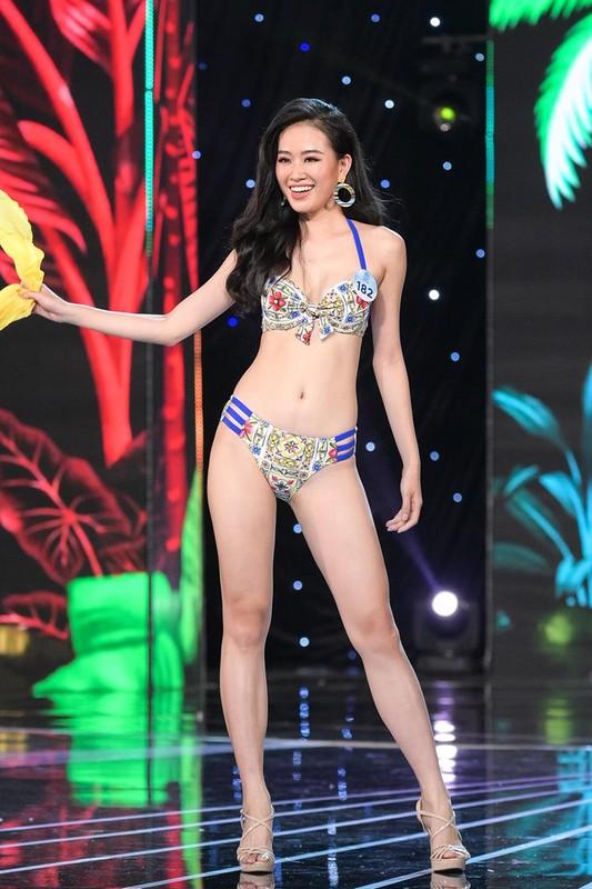 Thi sinh Miss World Viet Nam 2019 lo nhuoc diem khi dien ao tam-Hinh-19