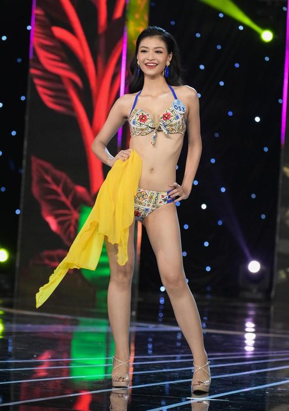 Thi sinh Miss World Viet Nam 2019 lo nhuoc diem khi dien ao tam-Hinh-5