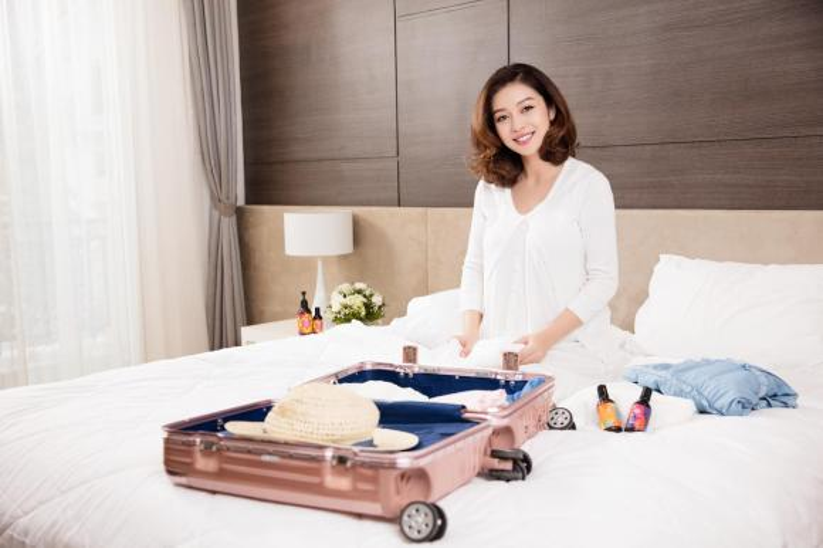 Mang thai lan 4, Jennifer Pham van xinh dep rang ngoi-Hinh-5