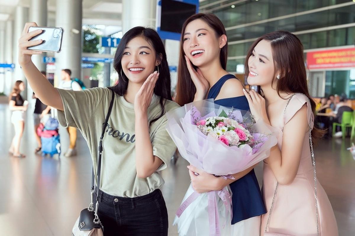 Luong Thuy Linh xinh boi phan ngay tro ve tu Miss World-Hinh-4