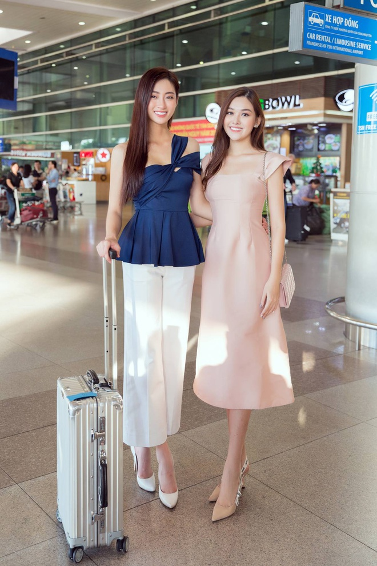 Luong Thuy Linh xinh boi phan ngay tro ve tu Miss World-Hinh-6