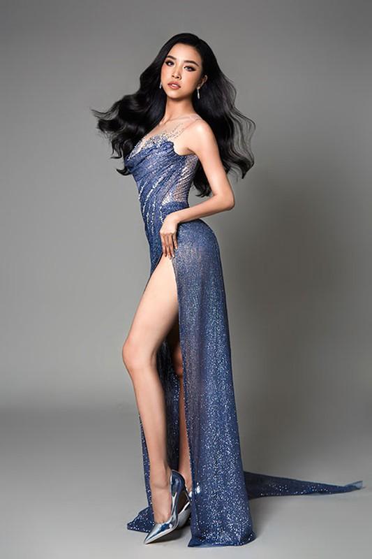 Thuy An dien dam xe cao goi cam thi chung ket Miss Intercontinental