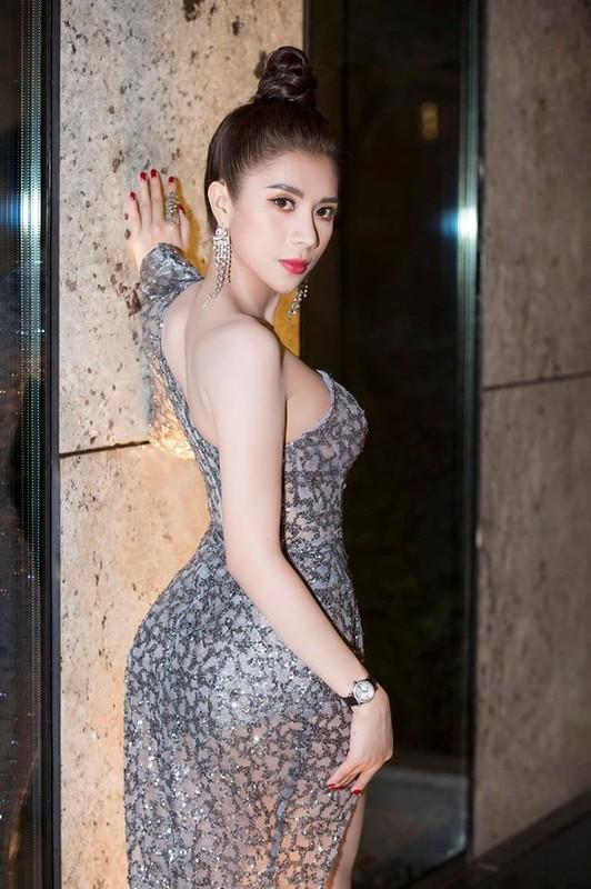Nhan sac Hoa hau Duong Yen Nhung doc tu nhay cam o su kien Ngoi sao xanh-Hinh-4
