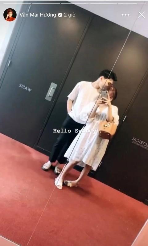 Van Mai Huong cham khoe ban trai sau vu bi hack camera lo clip nong-Hinh-2