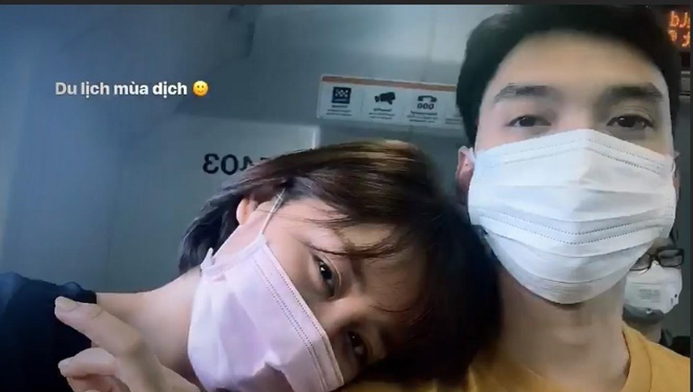 Van Mai Huong cham khoe ban trai sau vu bi hack camera lo clip nong