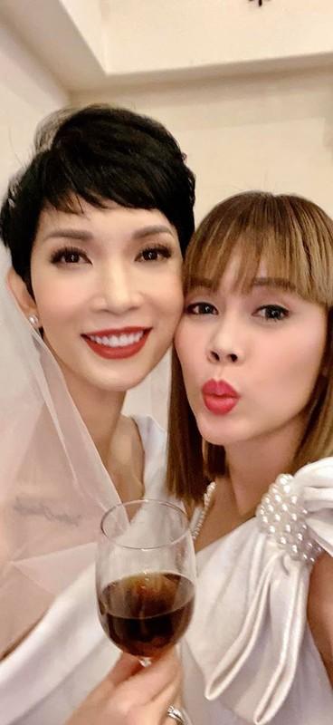 Viet Huong, Hong Dao du tiec bao hy cua vo chong Xuan Lan o My-Hinh-11