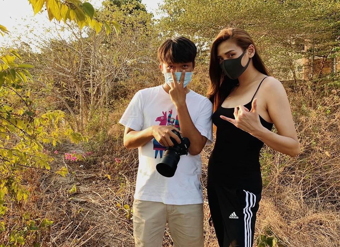 Vo Hoang Yen khoe dang