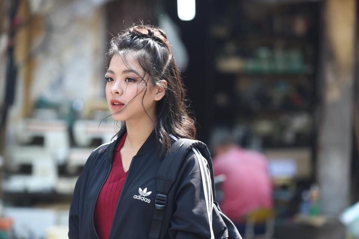 Con gai 16 tuoi cua NS Chieu Xuan vua xinh dep lai da tai, hat hay-Hinh-9