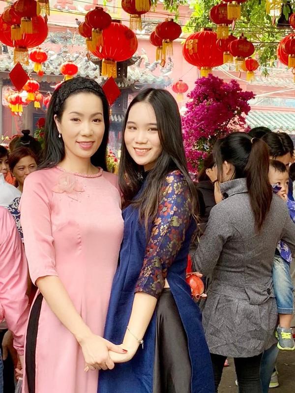Con gai 17 tuoi, cao 1m72 vua xinh lai gioi cua Trinh Kim Chi-Hinh-8