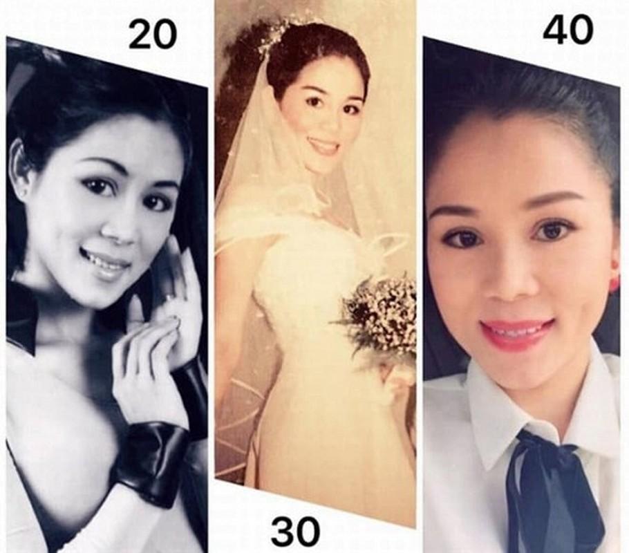 Vo MC Quyen Linh thoi tre qua xinh, bao sao sinh 2 con gai dep nhu hoa-Hinh-9