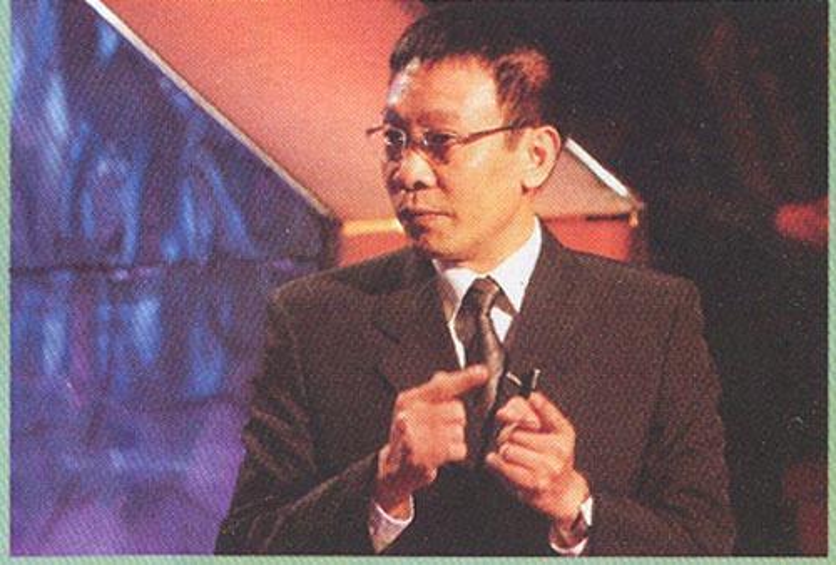 """Hinh anh """"ngo tau"""" cua Lai Van Sam va nhung MC dinh dam"""