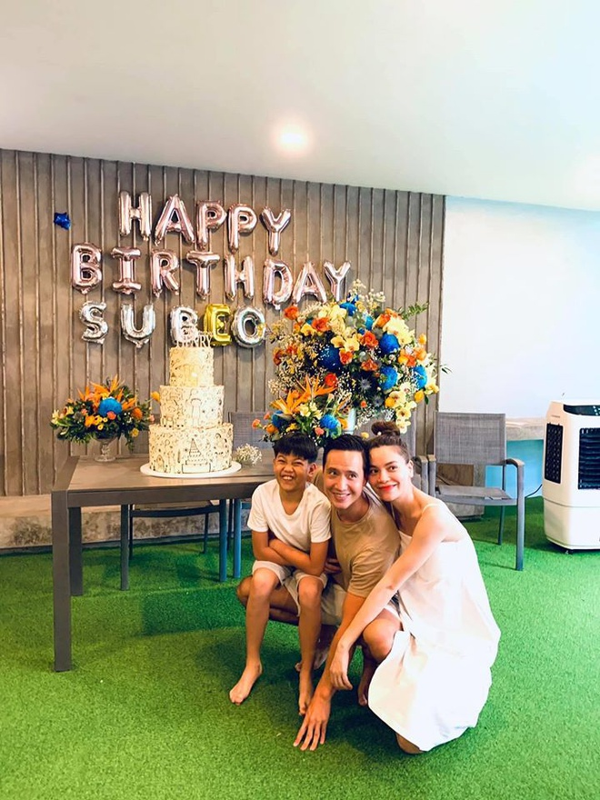 Ho Ngoc Ha, Cuong Do La vui ve to chuc sinh nhat cho Subeo
