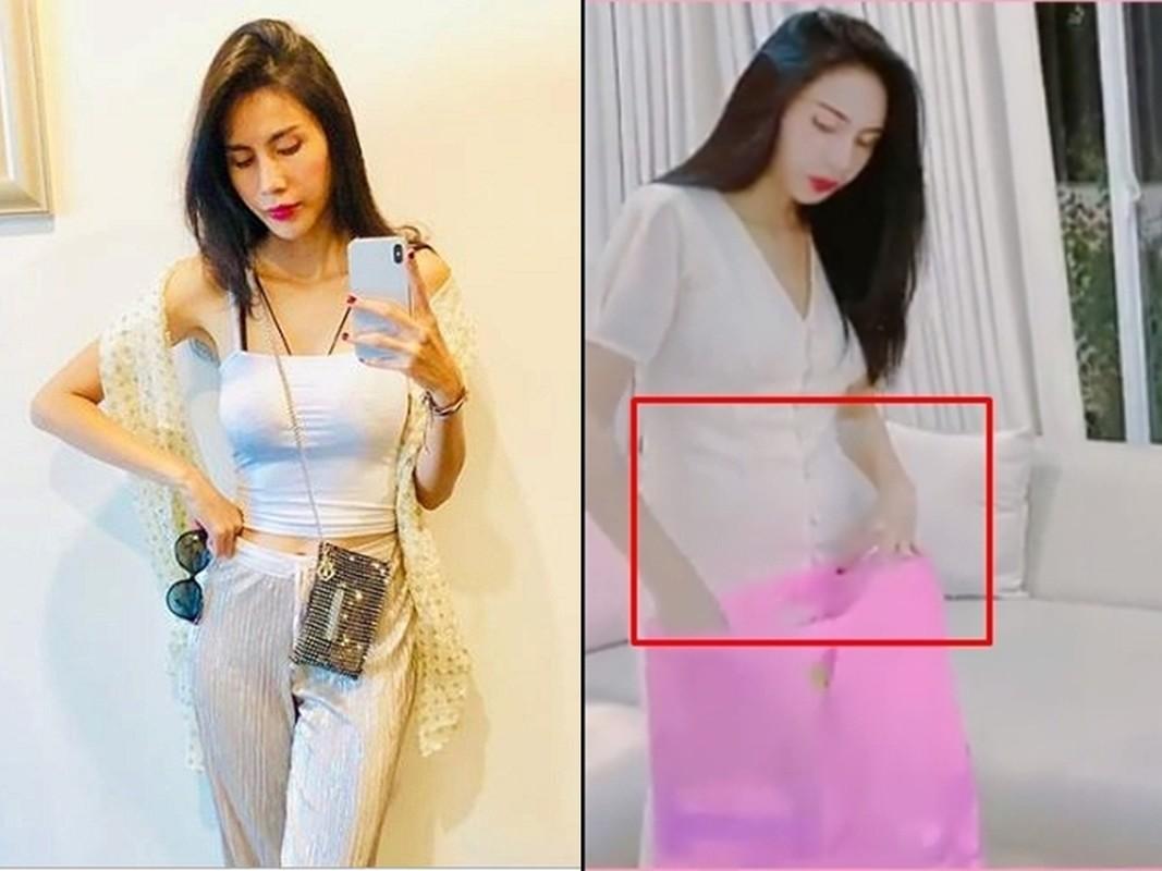 Nghi van Thuy Tien mang bau lan 2 khi lo vong eo lum lum-Hinh-6