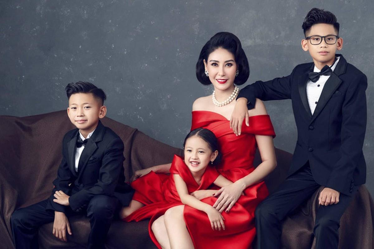 Lay chong giau, song cung 4 con Ha Kieu Anh quen di song gio-Hinh-2