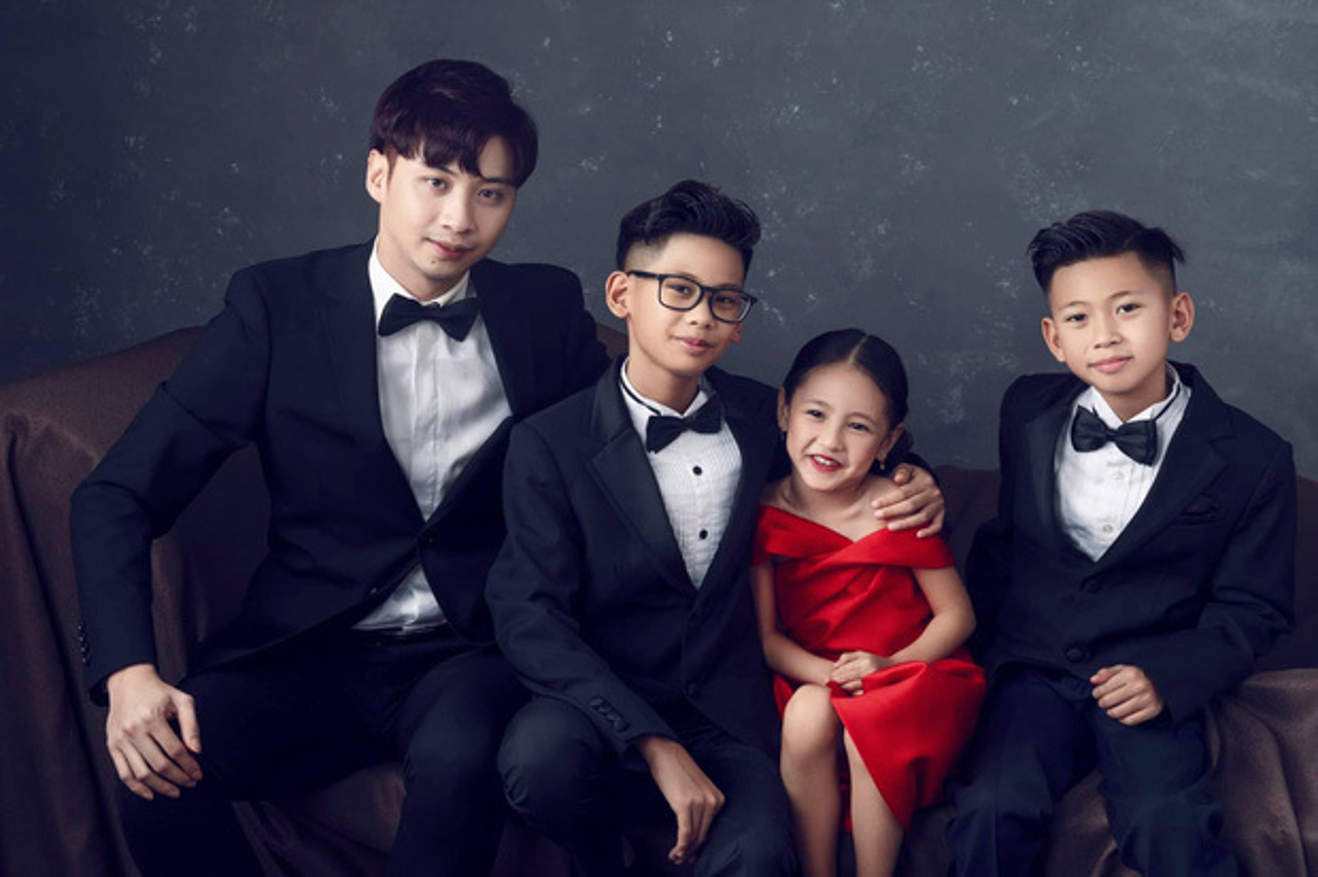 Lay chong giau, song cung 4 con Ha Kieu Anh quen di song gio-Hinh-3