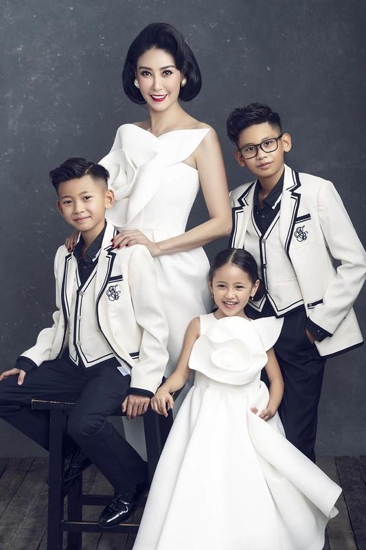 Lay chong giau, song cung 4 con Ha Kieu Anh quen di song gio-Hinh-7