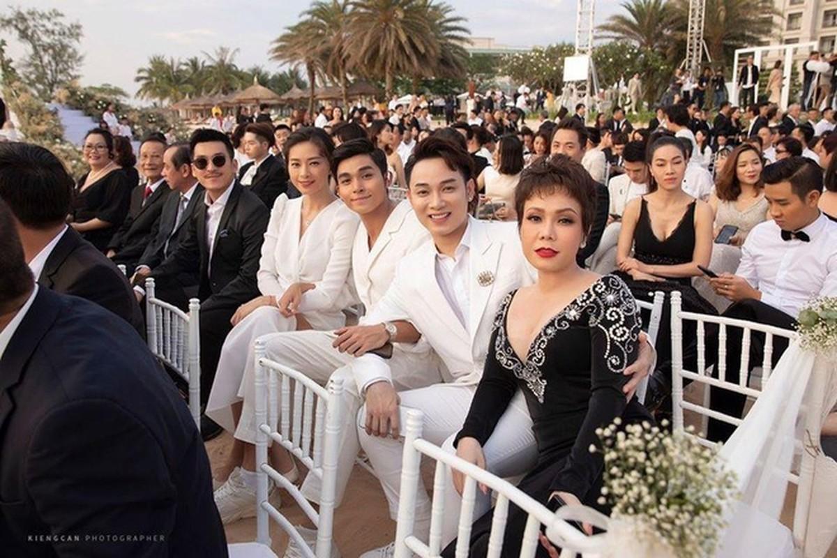 Hoang Thuy va loat sao gay tranh cai vi mac lo di dam cuoi-Hinh-4