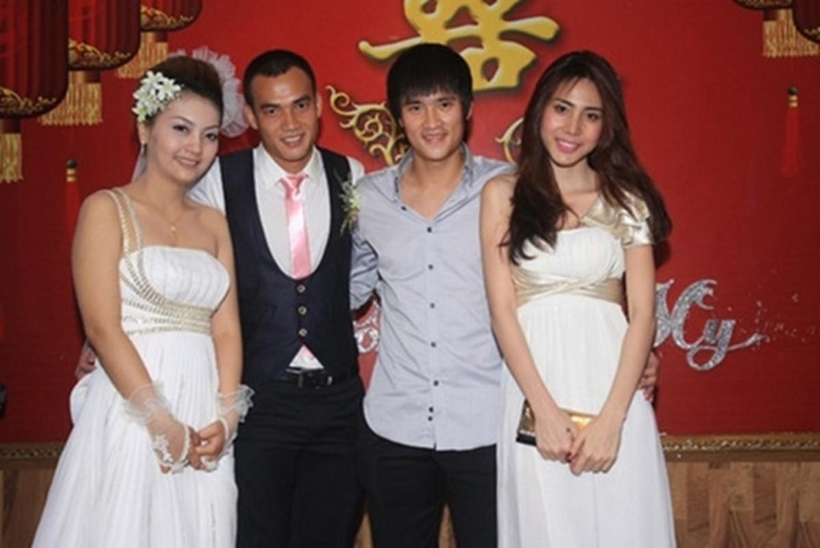 Hoang Thuy va loat sao gay tranh cai vi mac lo di dam cuoi-Hinh-9