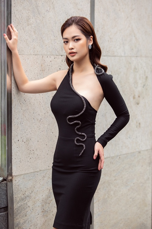 Nhan sac xinh dep dan thi sinh lot Ban ket Hoa hau Viet Nam 2020-Hinh-11