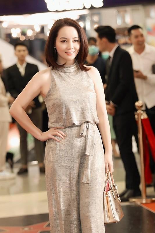 MC Quyen Linh dua con gai xinh nhu hoa hau di su kien-Hinh-11