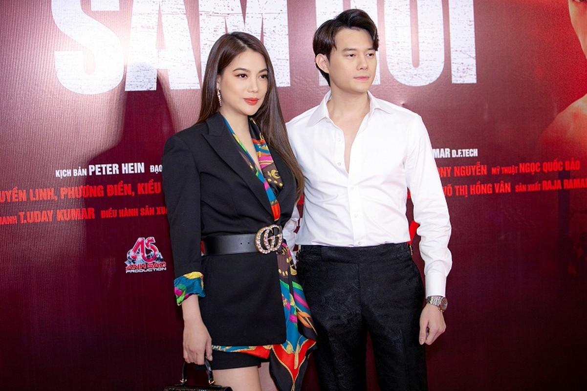 MC Quyen Linh dua con gai xinh nhu hoa hau di su kien-Hinh-7