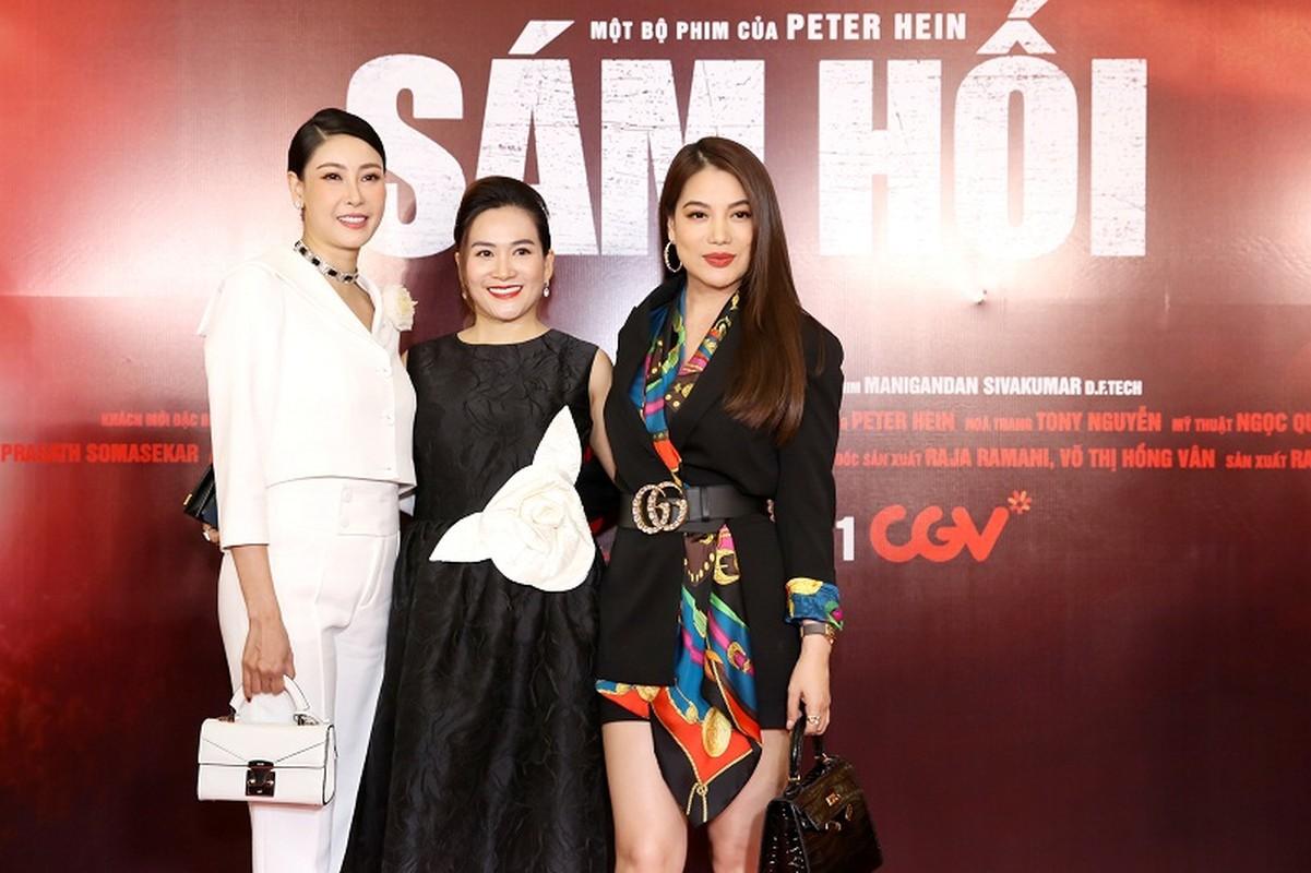 MC Quyen Linh dua con gai xinh nhu hoa hau di su kien-Hinh-8